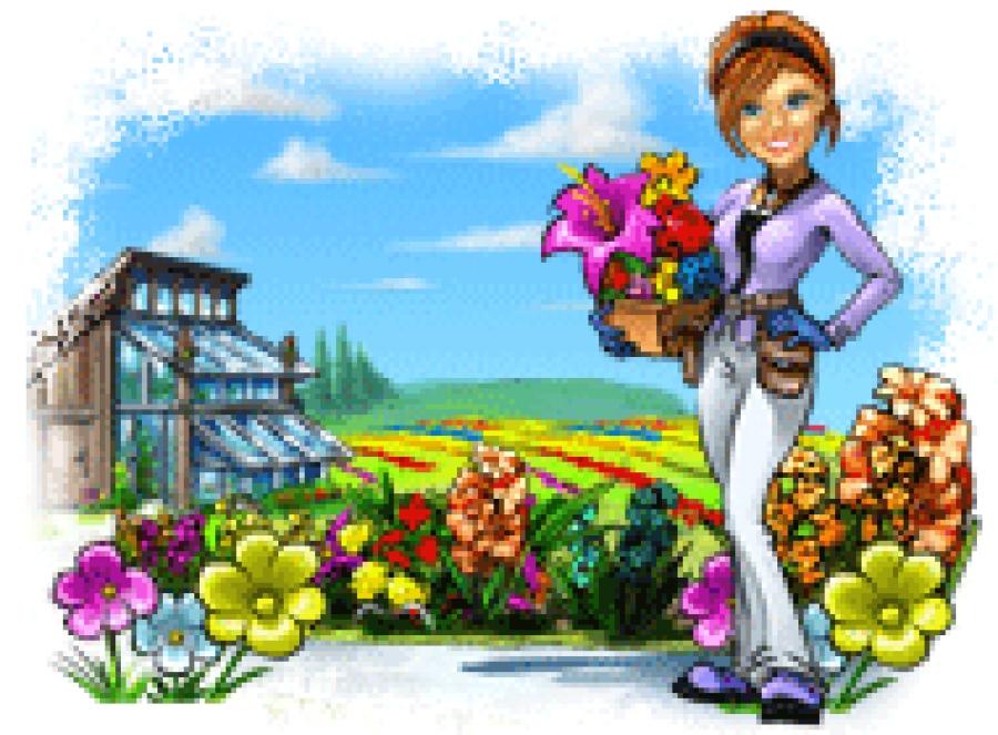 Флорист картинки для детей на прозрачном фоне