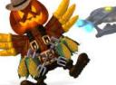 Вторжение кур 5 Темный клюв Halloween Edition